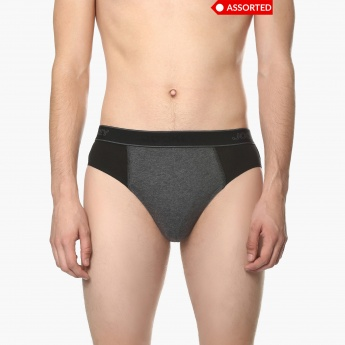 JOCKEY Combed Cotton Briefs - ASSORTED Colour & Design