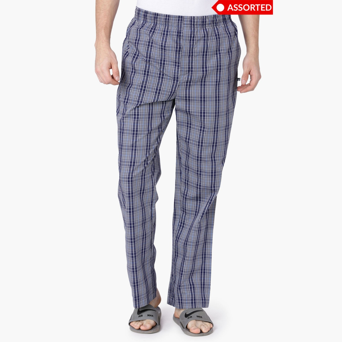 JOCKEY Checked Woven Lounge Pants