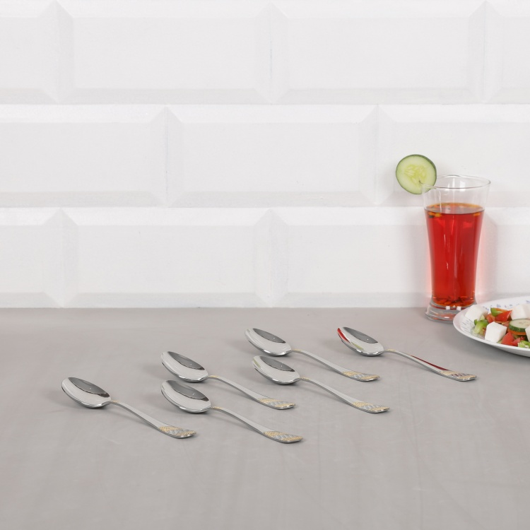 FNS Imperio Dessert Spoon - Set Of 6 Pcs.