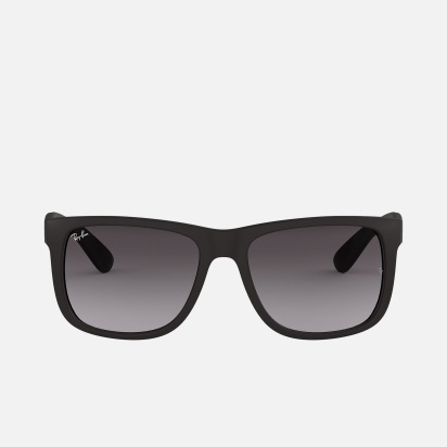 RAY-BAN Men Solid Wayfarers - 0RB4165-601-8G-55