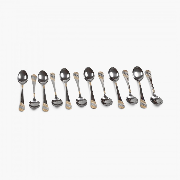 FNS Imperio Stainless Steel Cutlery Set-Set Of 90 Pcs.