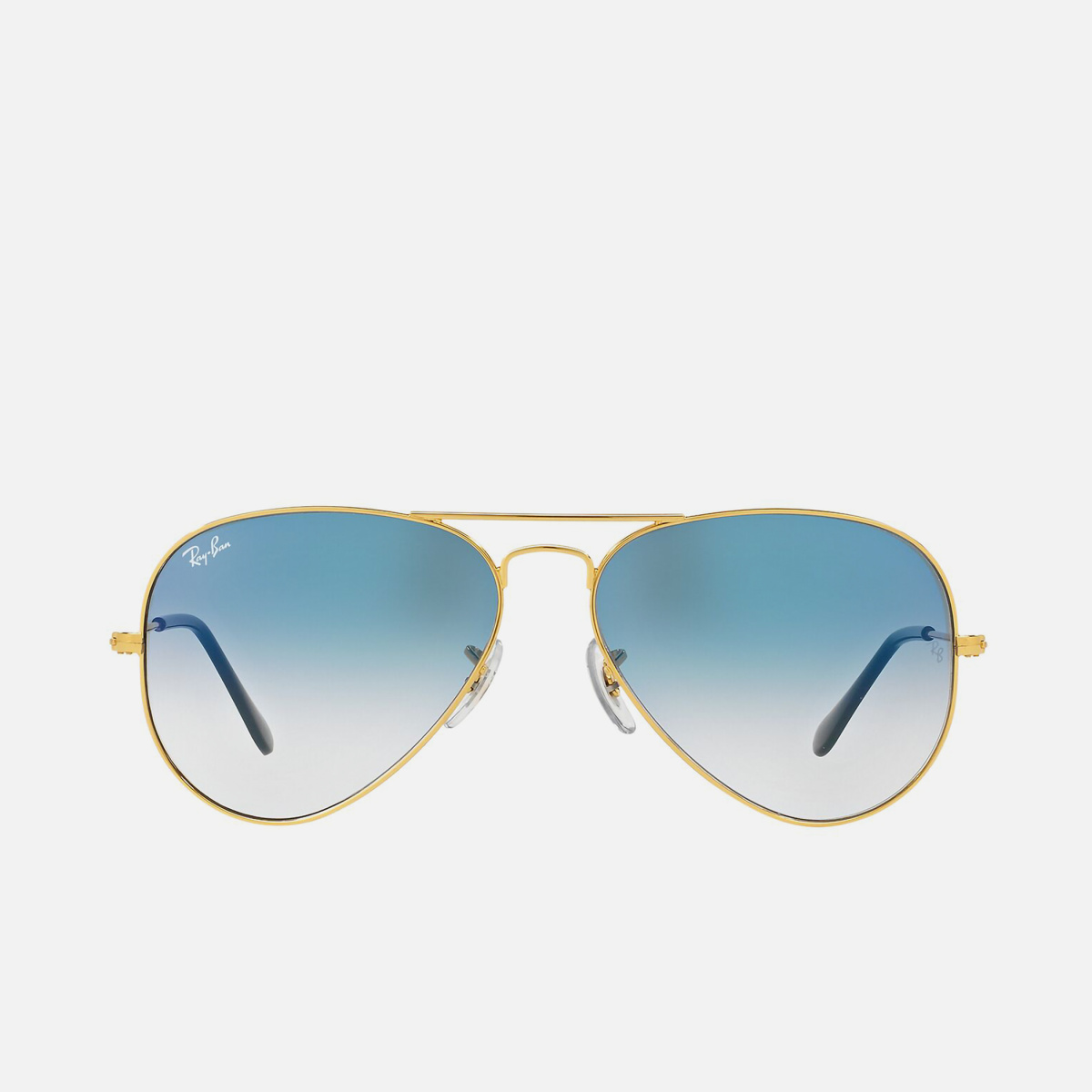 RAY-BAN Men Solid UV-Protected Aviator Sunglasses - 0RB30250013F58