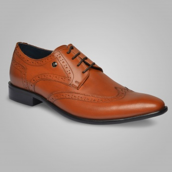 LOUIS PHILIPPE Classic Brogue Shoes