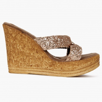CATWALK Glittery Heights Wedges