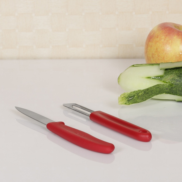 VICTORINOX Stainless Steel Peeler And Paring Knife