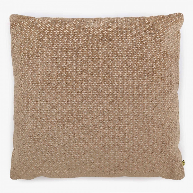 Matrix Milano Chennile Jacquard Filled Cushion - 40 x 40 CM