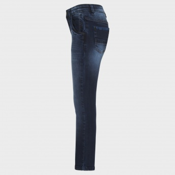 GINI & JONY Stonewashed Five-Pocket Jeans