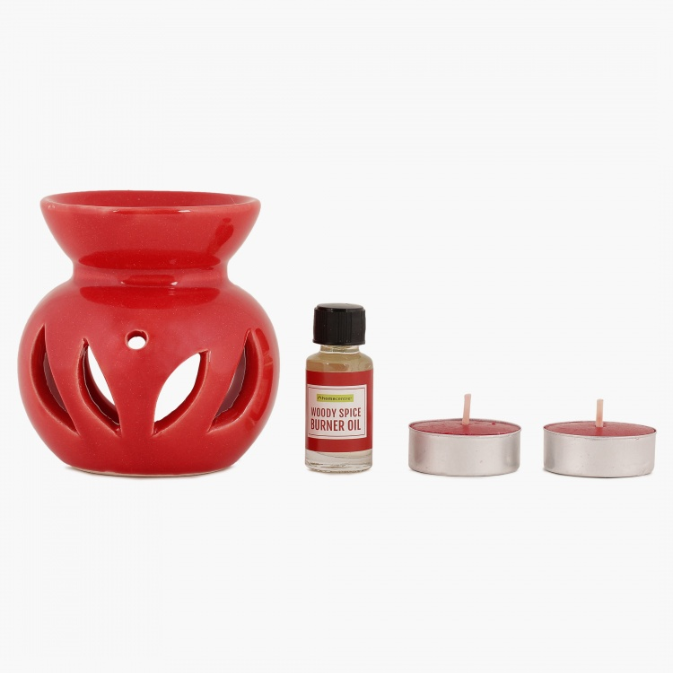 Serene Burner Candle Stand Set