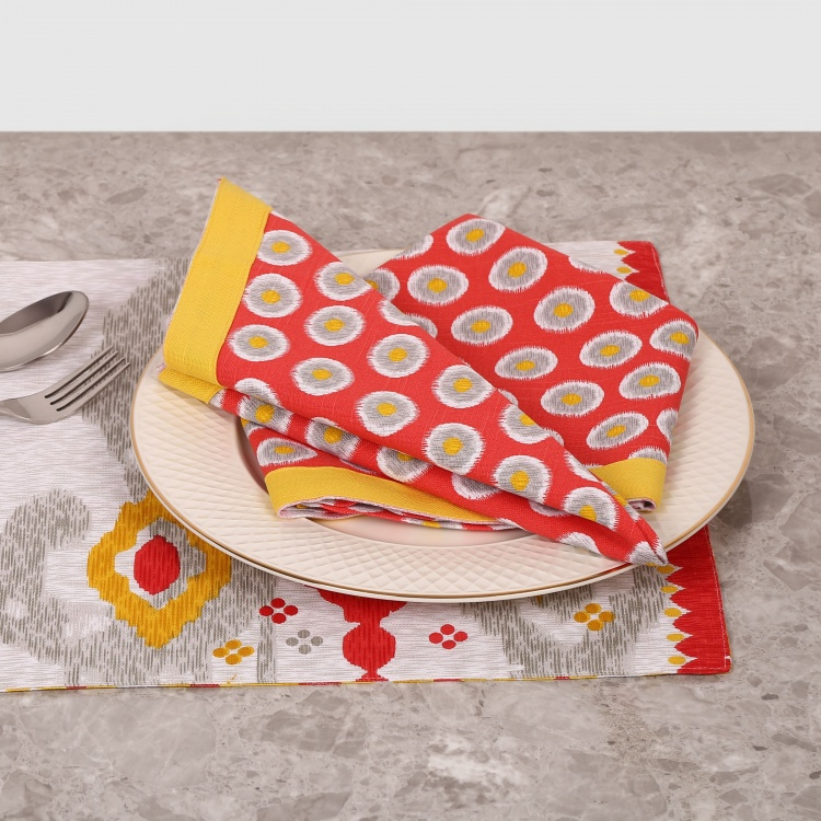 Remaster Printed Table Napkin- Set Of 2