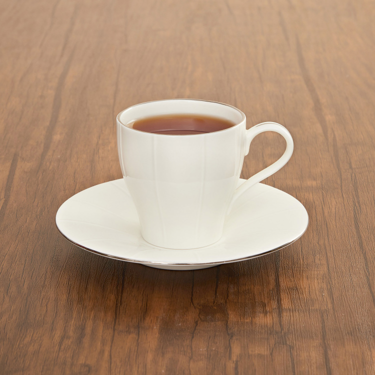 Bliss Ceramic Cup And Saucer - 200 ml
