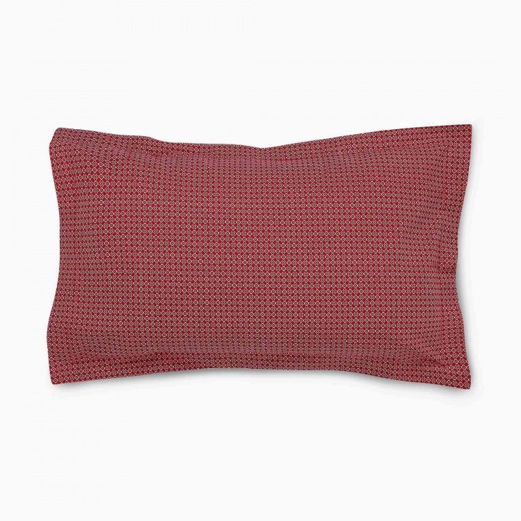 Mandarin Pillow Covers- Set Of 2 Pcs.
