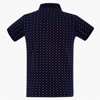 U.S. POLO ASSN KIDS Star Print Polo T-Shirt