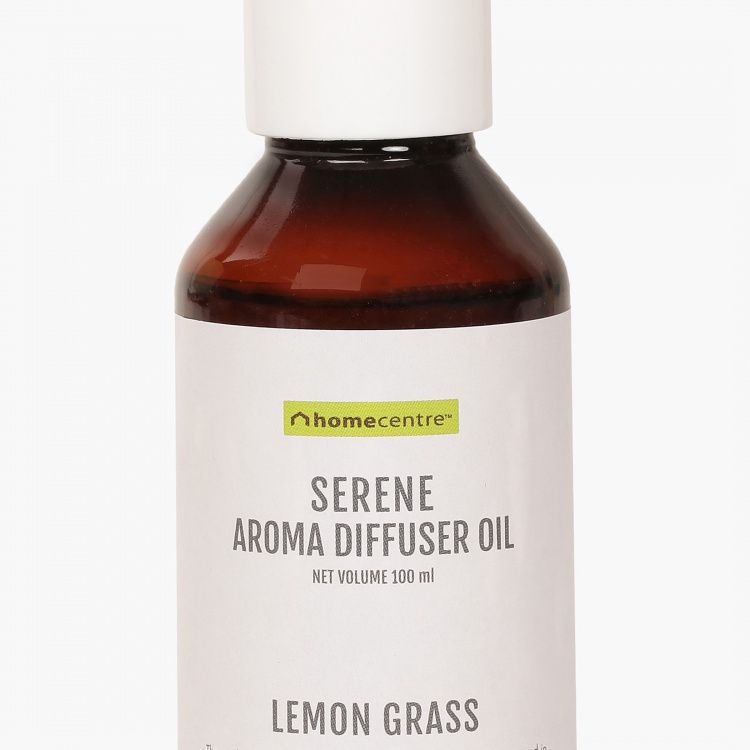Serene Oil Lemon Grass Aroma Diffuser Oil - 100 ml