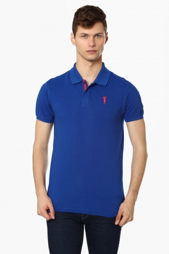 BOSSINI Solid Polo T-Shirt