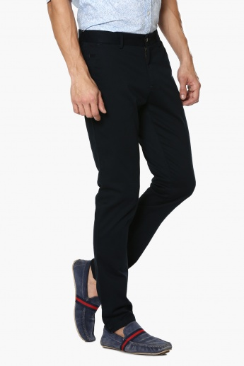 CODE Slim Fit Flat Front Pants