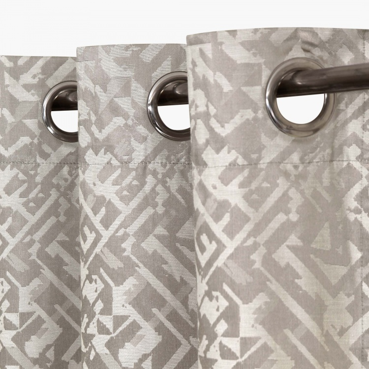 Matrix Griffin Black Out Window Curtain-Set Of 2