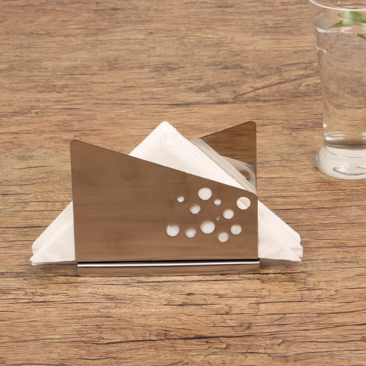 Gabrielle Stainless Steel Napkin Holder