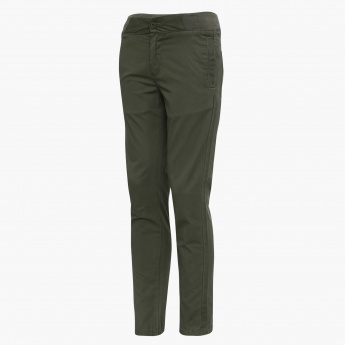 U.S. POLO ASSN. Solid Pocketed Pants
