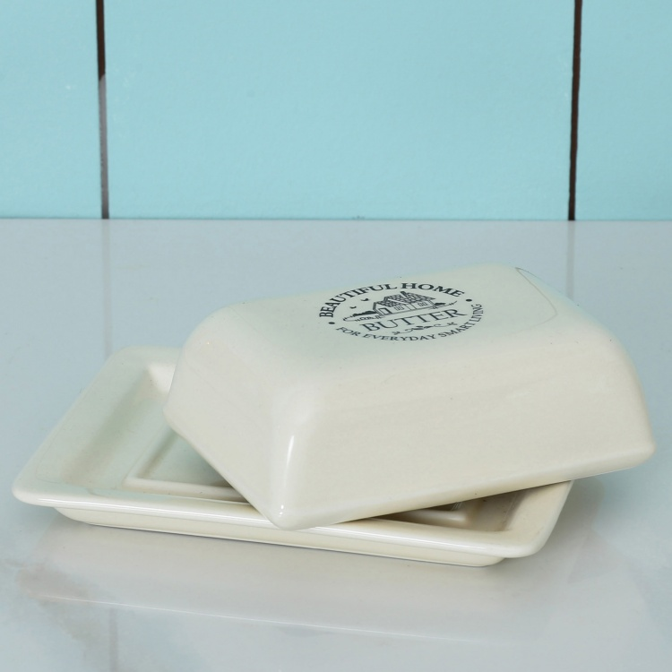 Beautiful Home Butter Dish