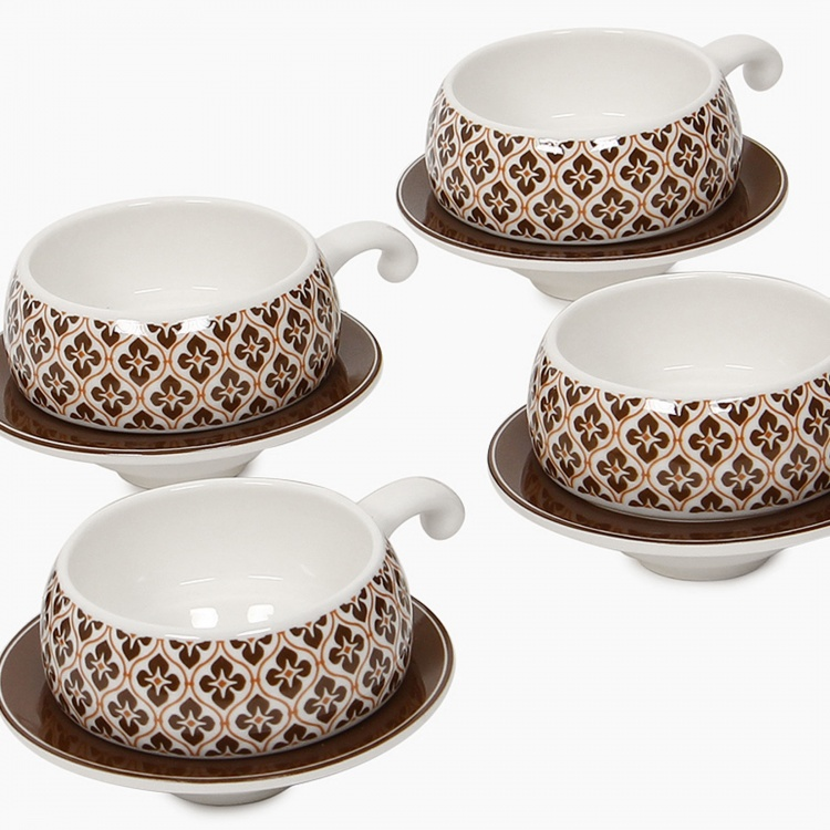 Abia Lilliput Cup And Saucer Set-12pcs