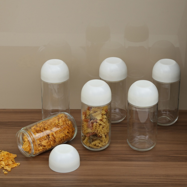 Regal Glass Storage Jars- 6  - 800ml