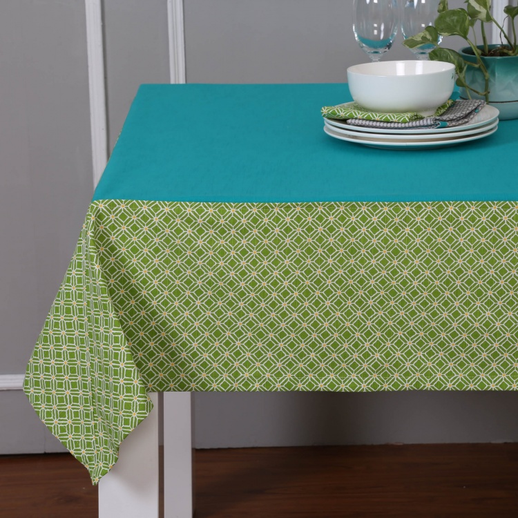 Meadows Metrix Print Table Cloth- 150X200Cm