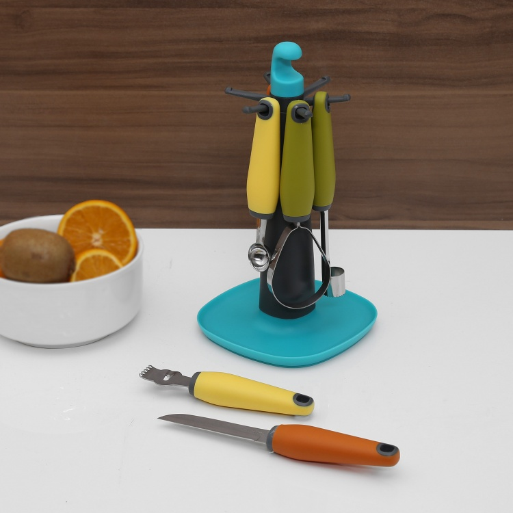 Springfield Fruit Tools With Stand - Set Of 7 Pcs