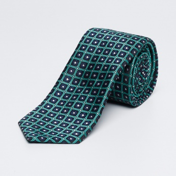 LOUIS PHILIPPE Embroidered Formal Tie