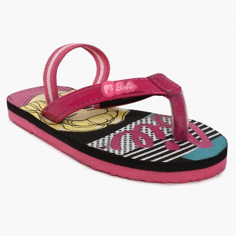 BIOWORLD Barbie Print Slippers