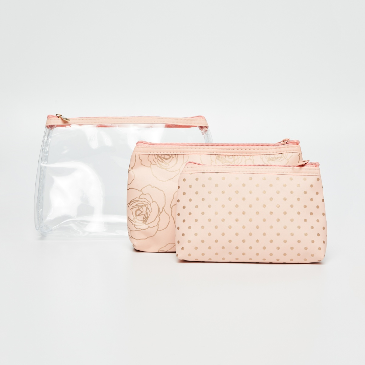 GINGER Printed Toiletry Pouch- 3 Pcs.