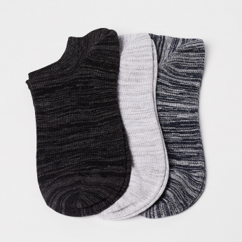 FORCA Knitted Solid Socks- Set of 3 pcs.