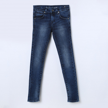 PEPE JEANS Skinny Fit Stonewashed Jeans