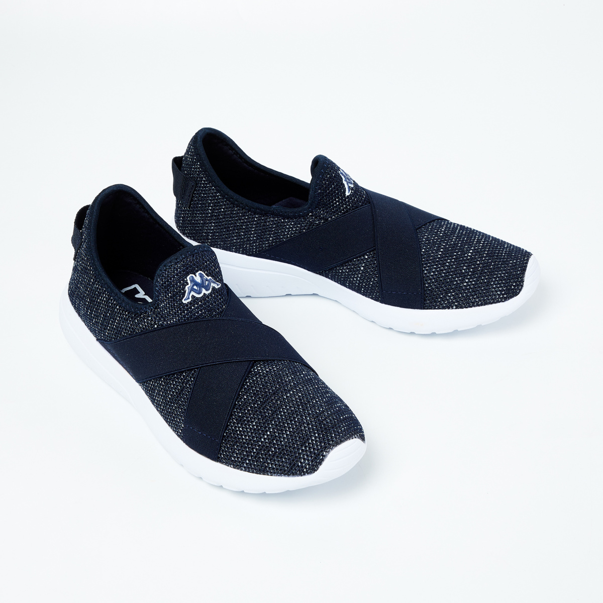 KAPPA Textured Slip-On Sports Shoes