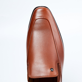 LOUIS PHILIPPE Genuine Leather Slip-On Formal Shoes