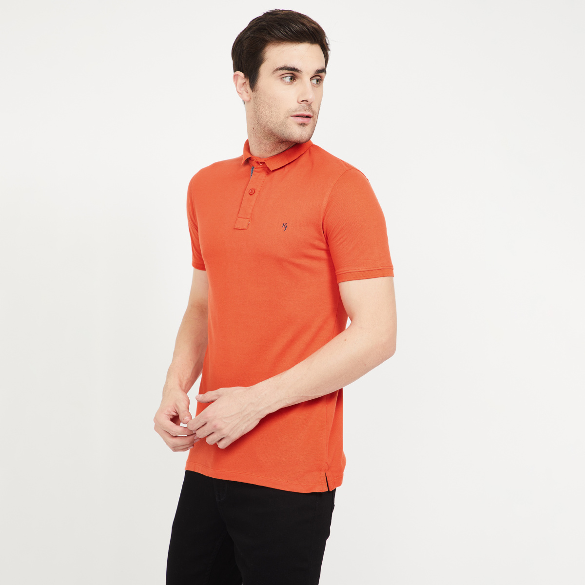 KILLER Solid Regular Fit Polo T-shirt