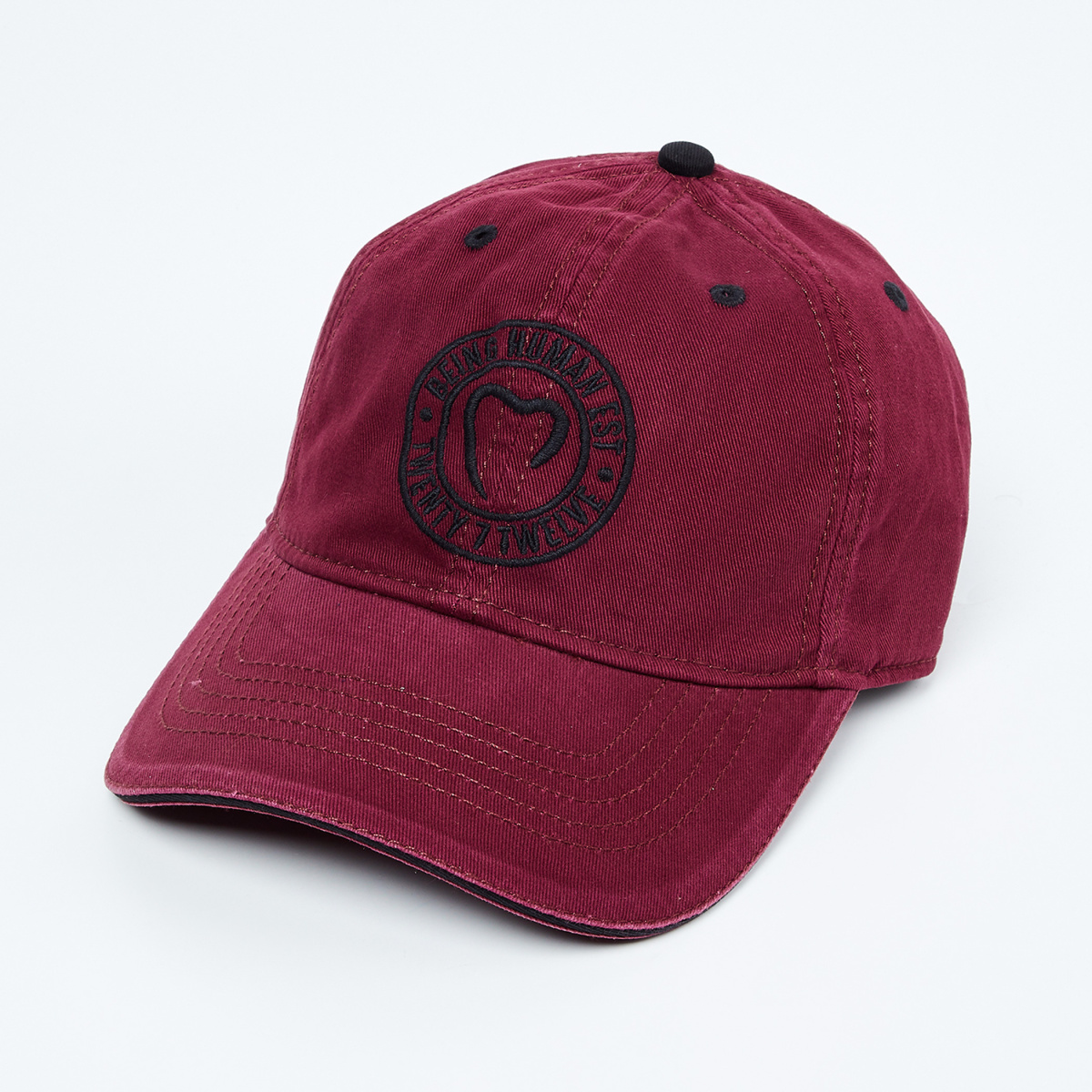 BEING HUMAN Embroidered Baseball Cap
