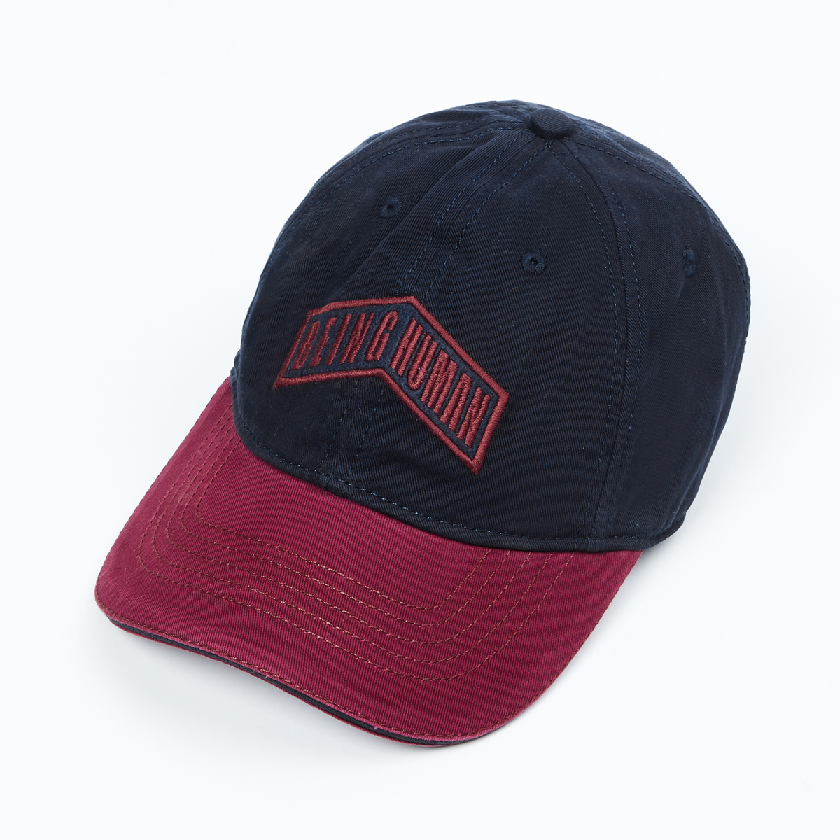 BEING HUMAN Men Embroidered Cap