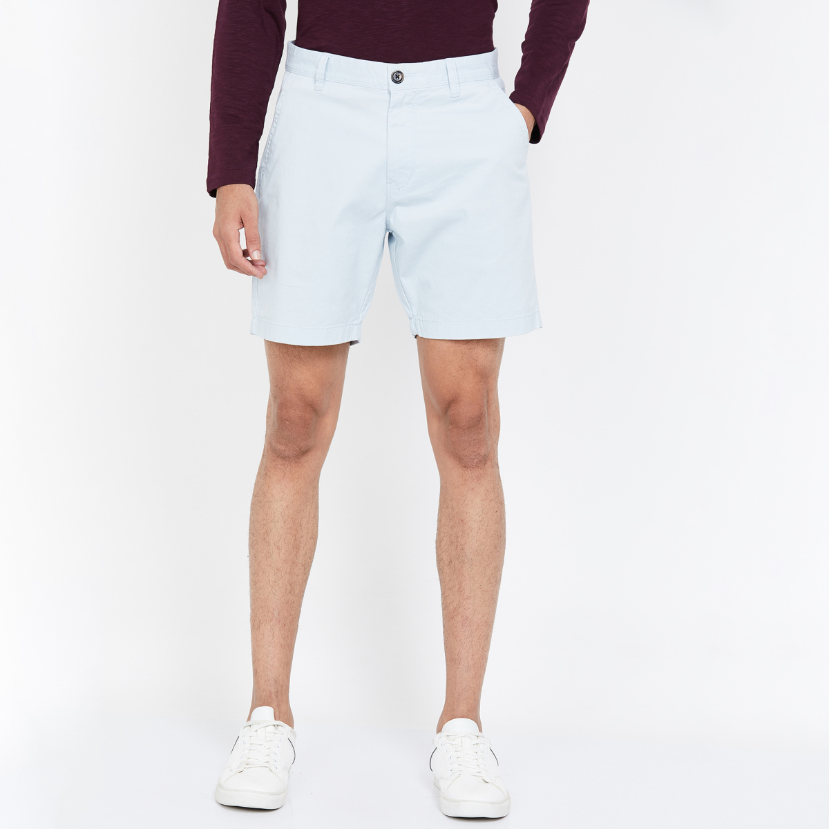 AEROPOSTALE Men Solid Regular Fit Shorts