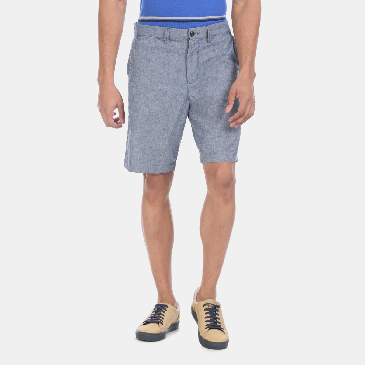 GAP Men Textured Regular Fit City Shorts