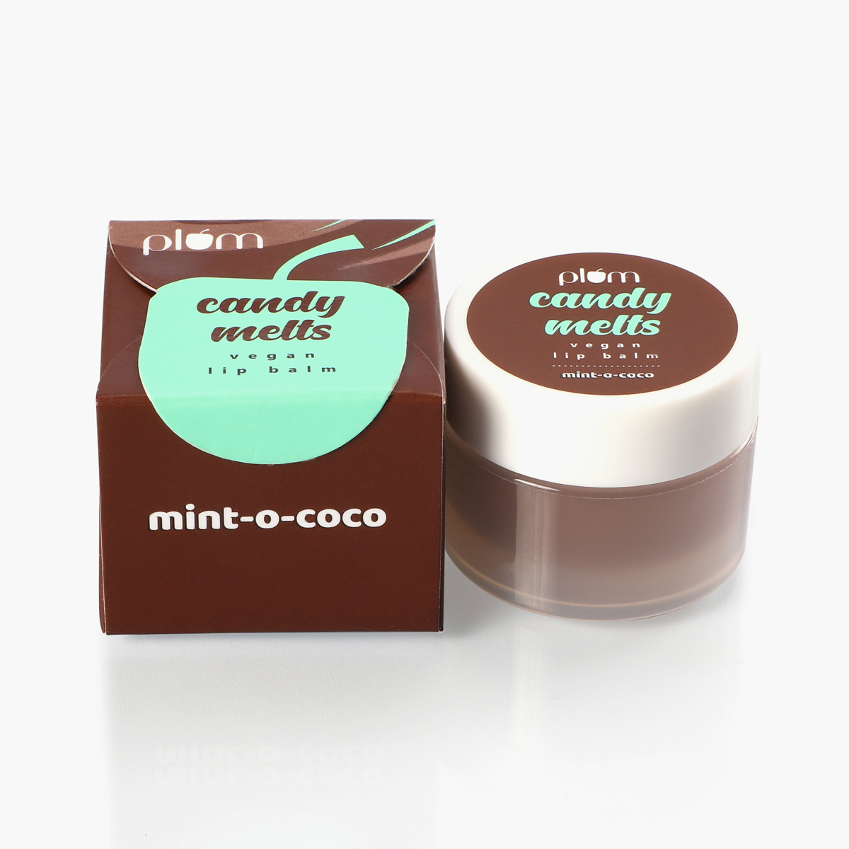 PLUM Candy Melts Vegan Lip Balm - Mint-o-Coco