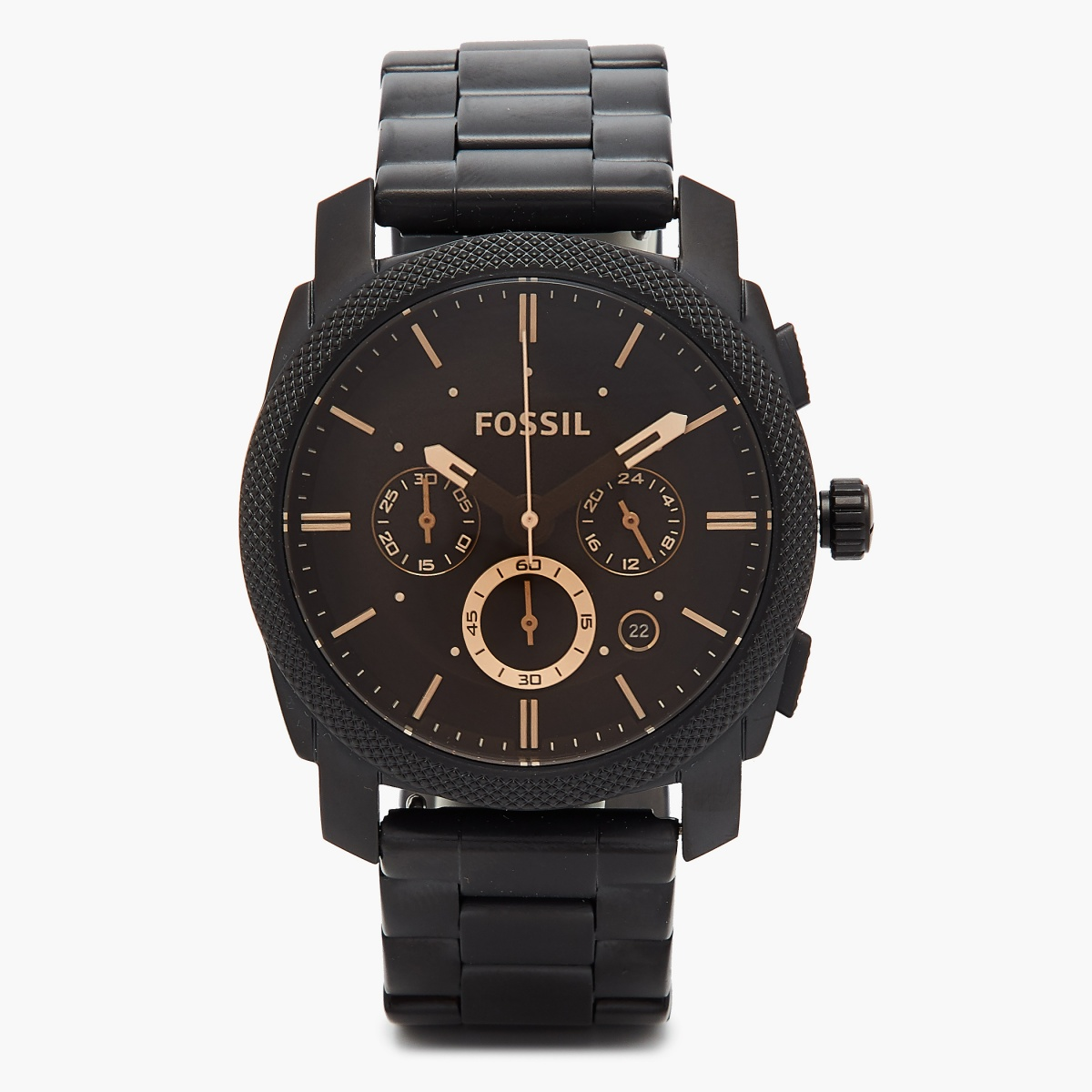 FOSSIL Men Machine Mid-Size Chronograph Watch - FS4682