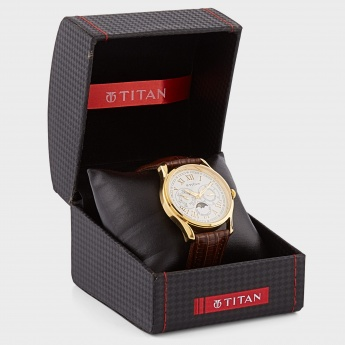 TITAN NF1487YL01 Multifunction Watch