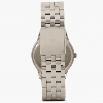 TITAN Steel Collection 1584SM04 Analog With Date Watch