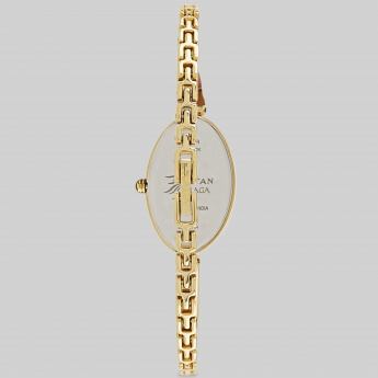 TITAN 2527YM01 Raga Analog Oval Gold Watch