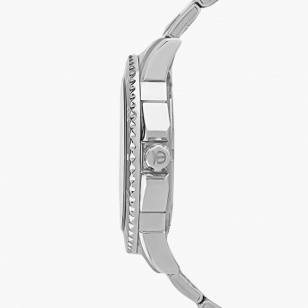 TITAN 90040KM01J Stainless Multifunction Watch