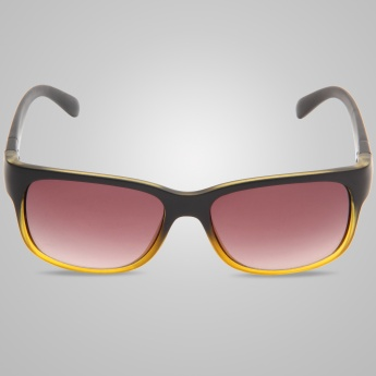 SCOTT Dual Tone Rectangle Sunglasses